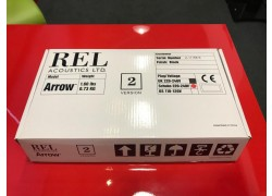 REL Acoustics ARROW (Gloss Black) Wireless Subwoofer Link